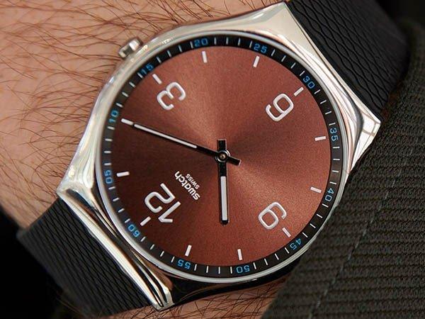 Zegarki Swatch na pasku