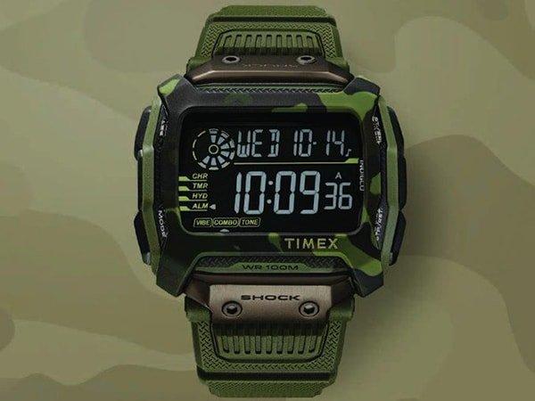 Specyfikacja zegarków Timex
