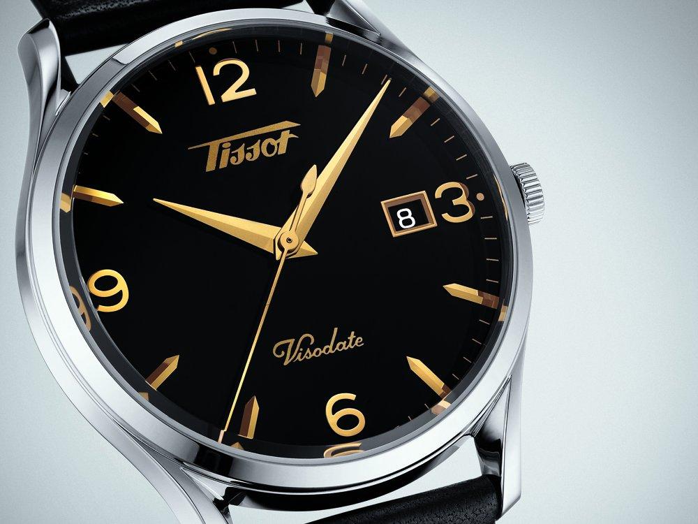 Klasyczny zegarek Tissot Visodate.