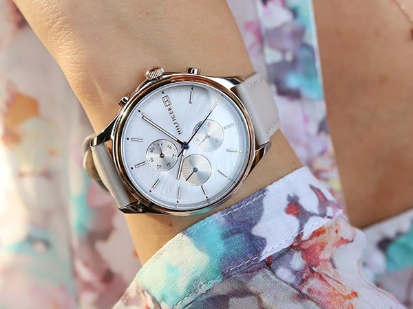 Damski zegarek Tommy Hilfiger na pasku