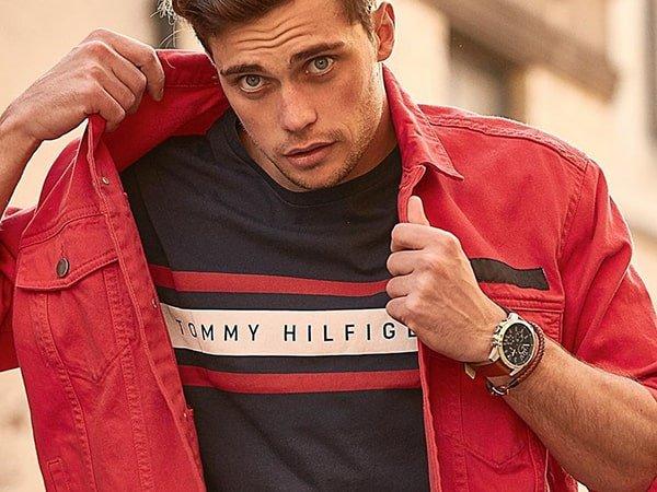 Stylowe zegarki Tommy Hilfiger na pasku