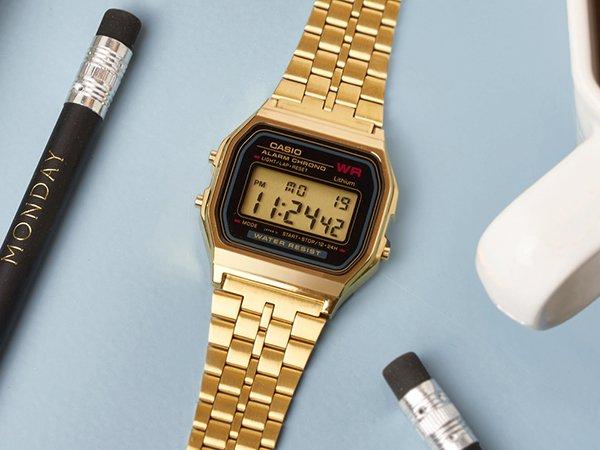 Zegarki Casio damskie na bransolecie klasyczne