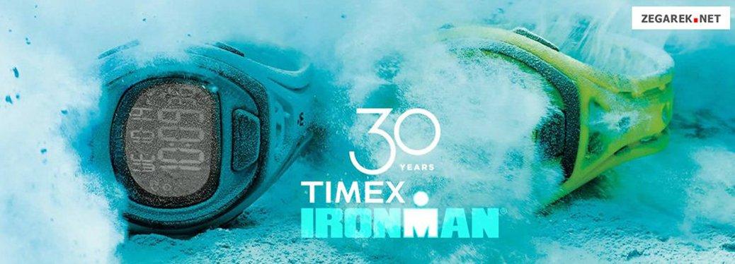 Sportowe zegarki Timex Ironman w żywych kolorach takich jak intensywny niebieski oraz świeży zielony.