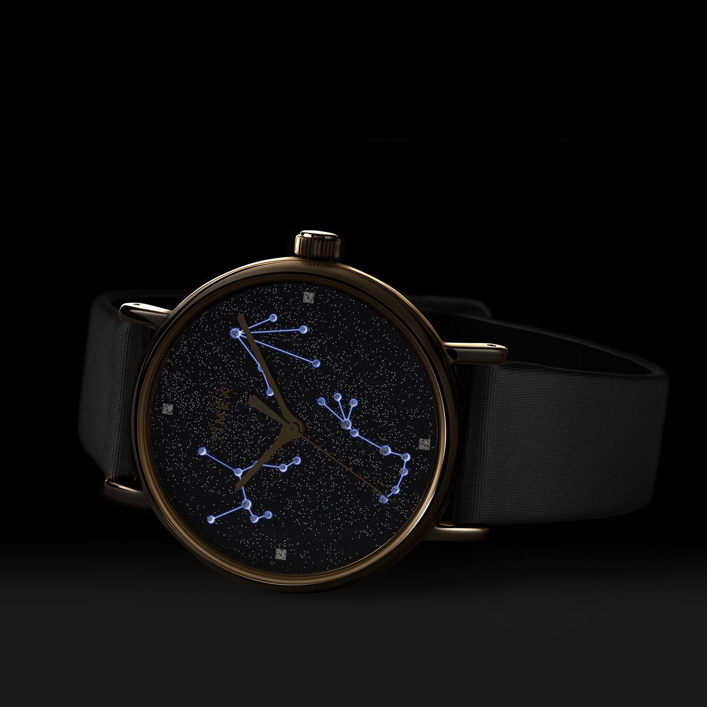 Wyjątkowy zegarek Timex pełen gwiazd.