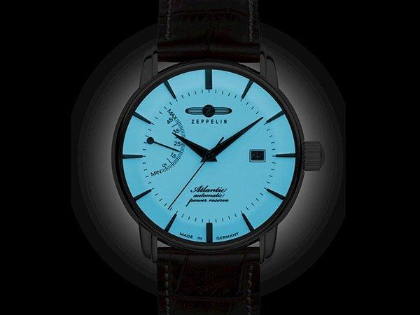 Zegarki Zeppelin Atlantic z oświetleniem Luminova