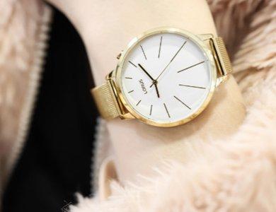Zegarek złoty czy w kolorze złota?