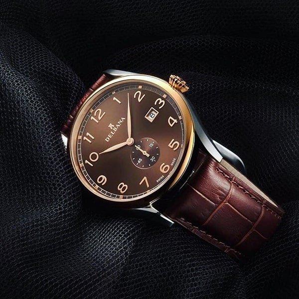 Ponadczasowa klasyka zegarków Delbana