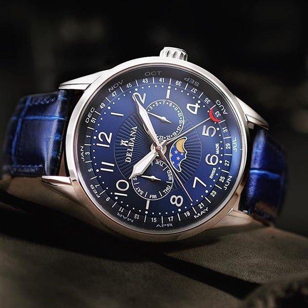 Zegarki Delbana — najwyższa jakość