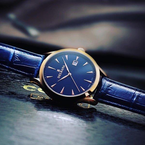 Dbałość o wykonanie w zegarkach Delbana