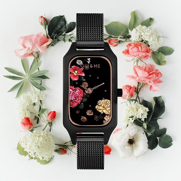 Kwieciste zegarki OUI & ME