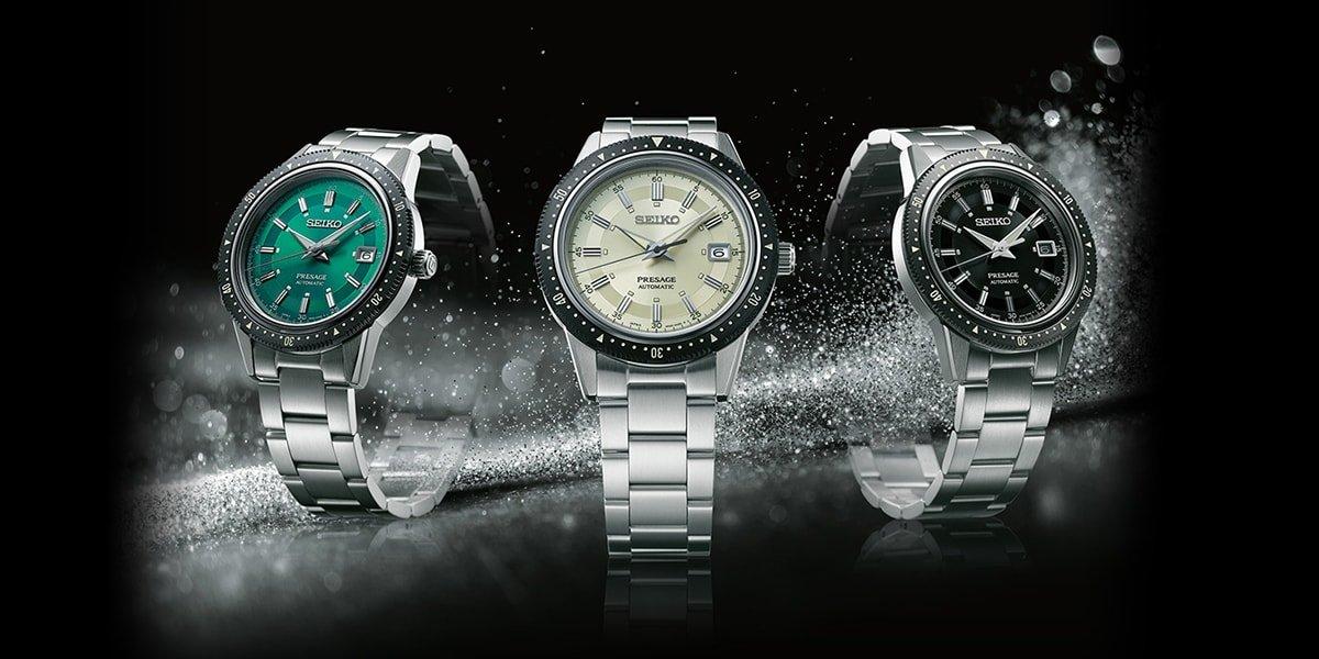 Wyjątkowe jak i niepowtarzalne zegarki Seiko Presage 2020 Limited Edition na 50 rocznicę