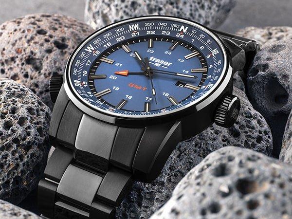 Traser P68 Pathfinder - wojskowy zegarek GMT dla wyjątkowych mężczyzn