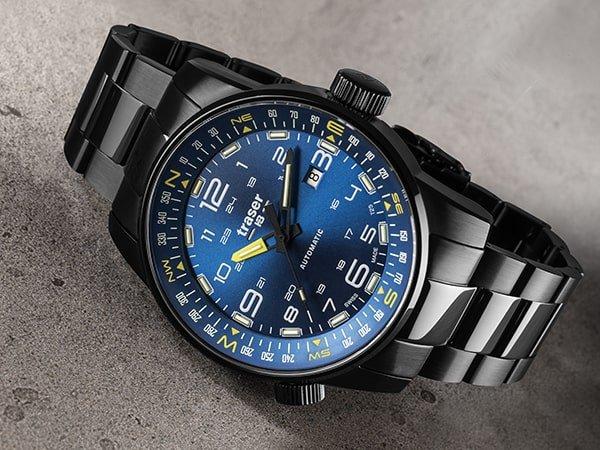 Traser P68 Pathfinder Automatic – jakość szwajcarskiego zegarmistrzostwa
