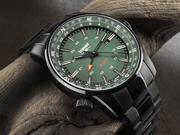 Traser P68 Pathfinder - wojskowy zegarek GMT