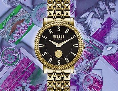 Zegarki Versus Versace – niekonwencjonalna stylistyka w artystycznym wydaniu