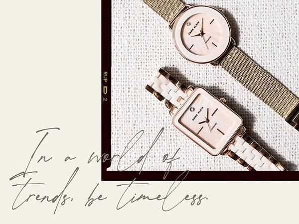 Zegarek Anne Klein damski to idealny element Twojej kreacji!