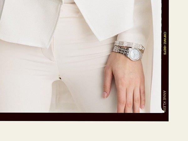 Zegarki Anne Klein na bransolecie idealną propozycją eleganckiej kobiety