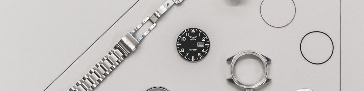 zegarki Aviator na bransolecie