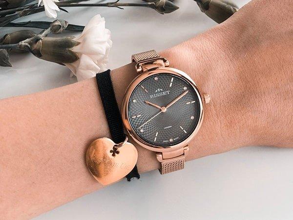 Zegarki Bisset damskie prosto ze Szwajcarii