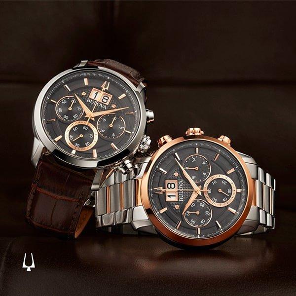 Wyjątkowa obudowa zegarków Bulova CURV
