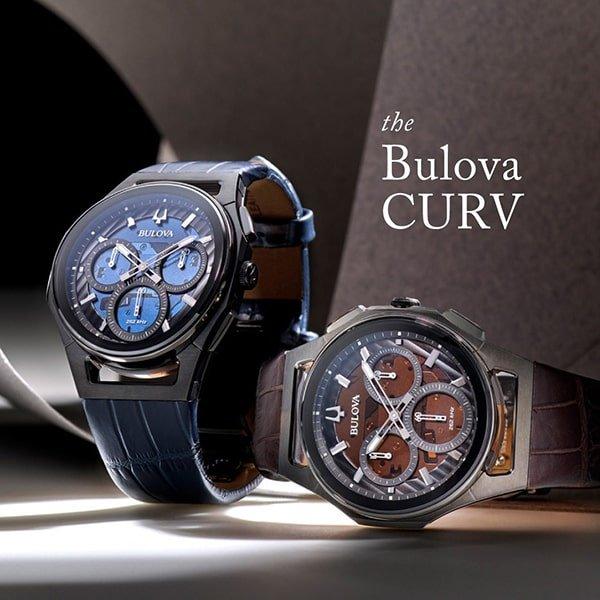 Niezwykła obudowa zegarków Bulova CURV