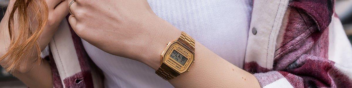 Historia stylu zegarków Casio Vintage - w stuly retro