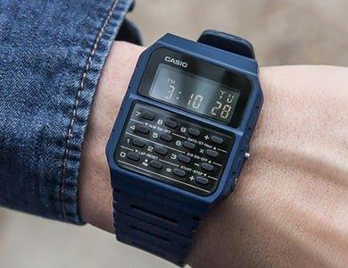 Zegarki Casio z kalkulatorem - nowa odsłona