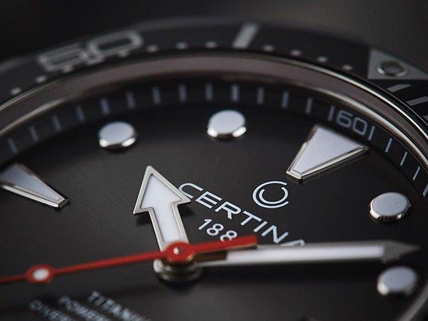 Sportowy design w zegarki Certina DS Action