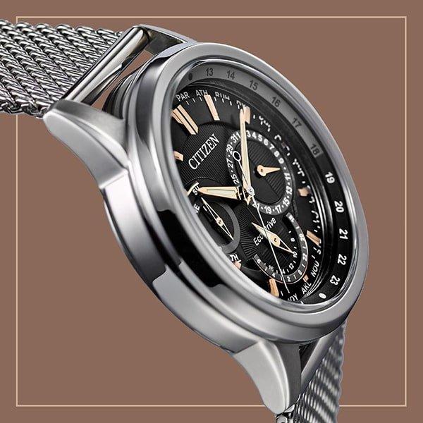 Zegarki Citizen na bransolecie mediolańskiej