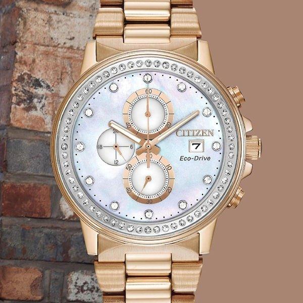 Wykonanie zegarków Citizen na bransolecie