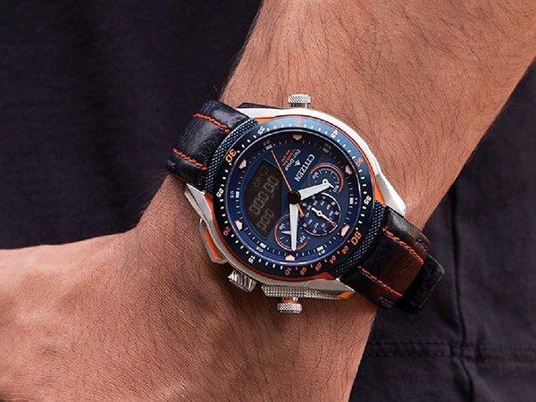 Zegarki Citizen w sportowym stylu w obniżonej cenie