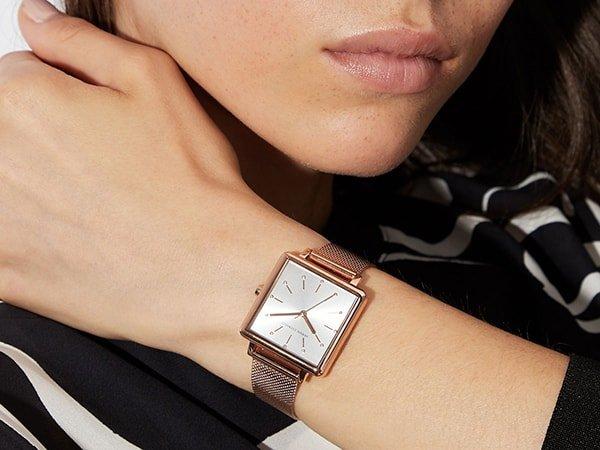 Armani Exchange – zegarki nowoczesnej i niezależnej kobiety