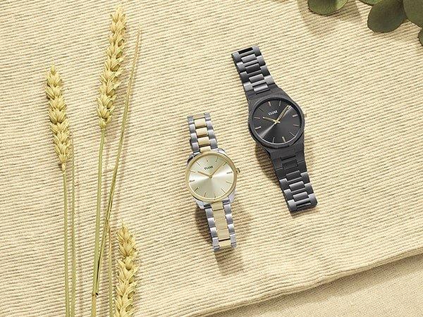 Znajdź nowy zegarek damski marki Cluse na wyprzedaży