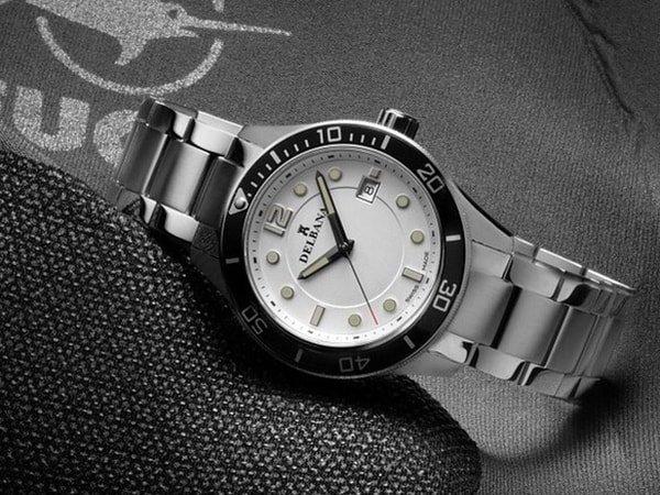 Męski zegarek Delbana na bransolecie