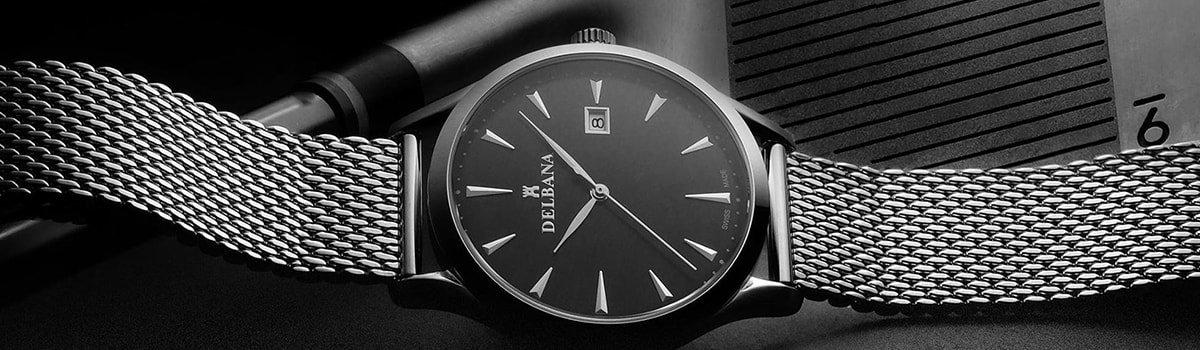 Zegarki Delbana na bransolecie