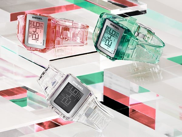 Damskie zegarki Diesel kobiecość pełna buntu
