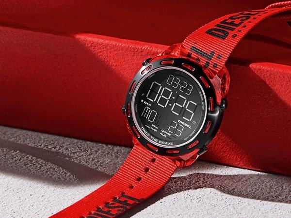 Męskie smartwatche Diesel - innowacja