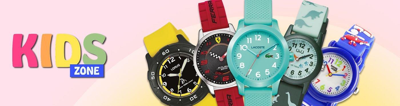Największy wybór zegarków dla dzieci w atrakcyjnych cenach