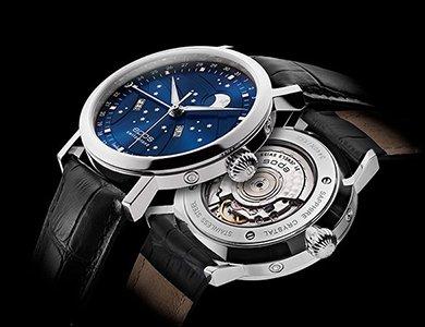 Nietuzinkowy zegarek Epos Big Moon z gwieździstą tarczą
