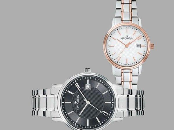 Zegarki Grovana na klasycznych bransoletach