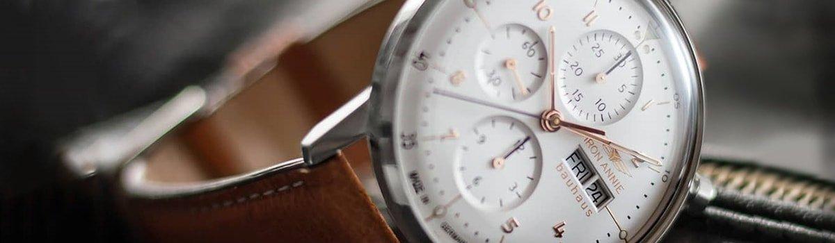 Niezwykła kolekcja zegarków Iron Annie Bauhaus