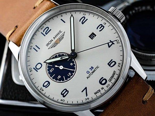 Dlaczego warto wybrać zegarek Iron Annie na skórzanym pasku?