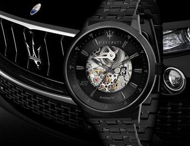 Nowość od Maserati - zegarki skeleton.