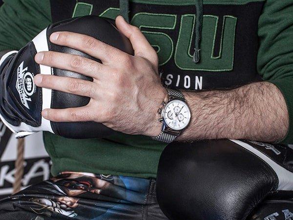 Szwajcarski styl zegarków męskich Bisset