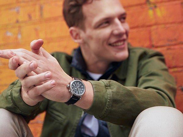 Wygodna zacięcie zegarków męskich Timex