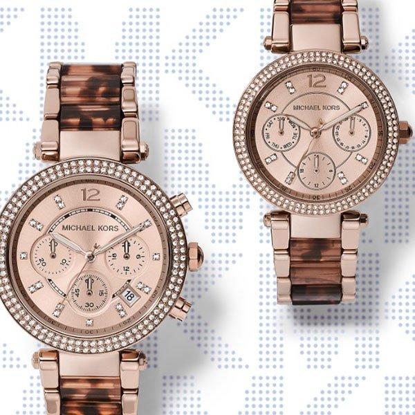 Niezwykłe zegarki Michael Kors na bransolecie ze stali szlachetnej