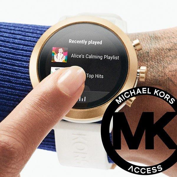 Zegarki Michael Kors na silikonowym pasku