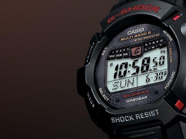 Zegarek odporny na błoto
