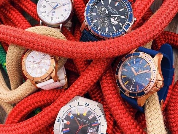 Nautica zegarek idealny do wodnych aktywności