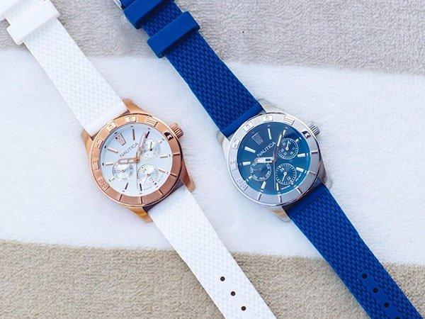 Oryginalny wygląd zegarków Nautica